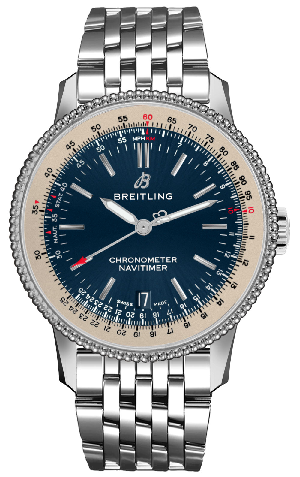 Breitling unisex navitimer 1 automatic 38 a17325211c1a1 for Breitling automatic