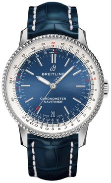 Breitling Navitimer Automatic 38 Blue Dial Steel Men's Watch A17325211C1P1