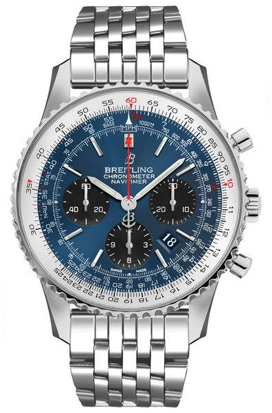 Breitling Navitimer 1 B01 Chronograph 43 Luxury Men's Watch AB0121211C1A1