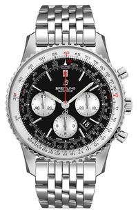 Breitling Navitimer 1 B01 Chronograph 43 Steel Men's Pilot Watch AB0121211B1A1