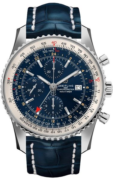 Breitling Navitimer 1 Chronograph GMT 46 Men's Watch A24322121C2P1