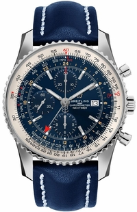 Breitling Navitimer 1 GMT 46mm Automatic Men's Watch A24322121C2X1