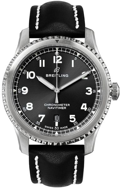 Breitling Navitimer 8 Automatic Black Dial Men's Watch 41 A1731410/BG68-493X