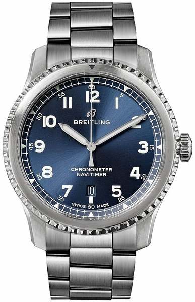 Breitling Navitimer 8 Automatic Blue Dial Men's Watch 41 A17314101C1A1