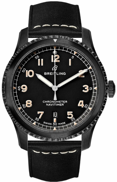 Breitling Navitimer 8 Automatic 41 Black Steel Men's Watch M17314101B1X1
