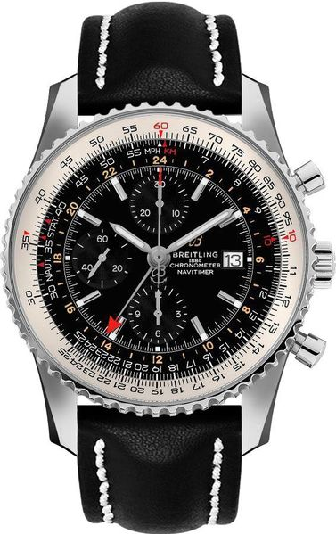 Breitling Navitimer GMT 46mm Automatic Men's Watch A24322121B2X2