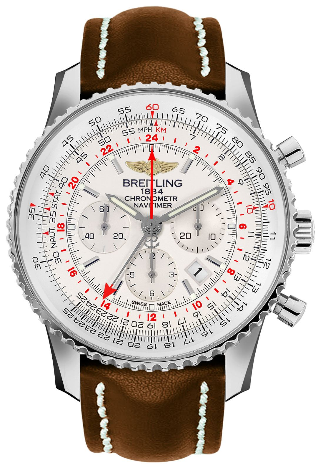 Breitling_Navitimer_GMT_Chronograph_Mens_Watch_AB0441211G1X1