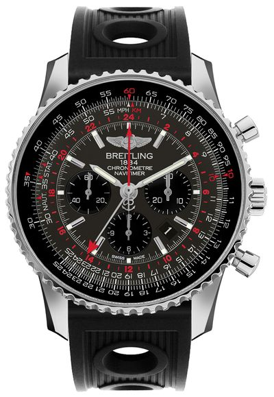 Breitling Navitimer GMT Automatic Men's Watch AB04413A/F573-201S