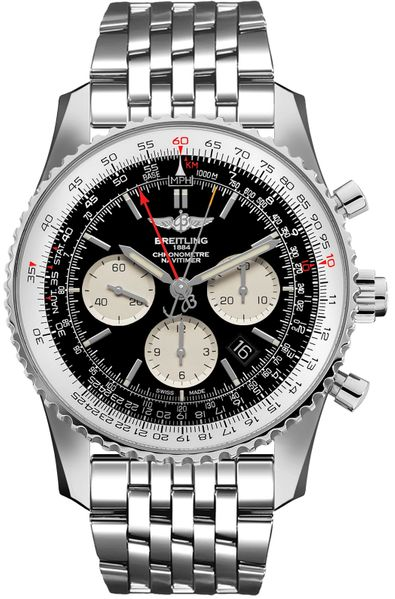 Breitling Navitimer Rattrapante Chronograph Men's Watch AB031021/BF77-453A