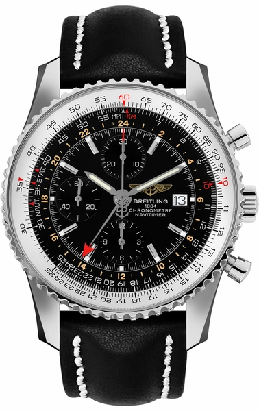 Breitling Navitimer 1 GMT 46 Chronograph Men's Watch A24322121B1X1