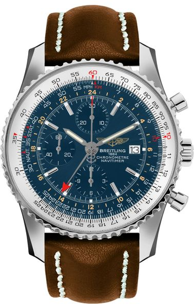 Breitling Navitimer 1 Blue Dial Automatic Men's Watch A24322121C1X2
