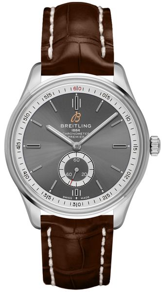 Breitling Premier Automatic 40 Anthracite Dial Men's Watch A37340351B1P1