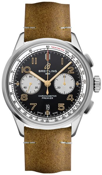 Breitling Premier B01 Chronograph 42 Norton Men's Watch AB0118A21B1X1