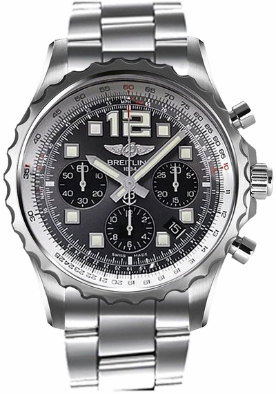 Breitling Chronospace Automatic Grey Dial Men's Watch A2336035/F555-167A