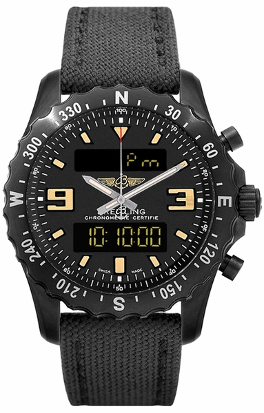 Breitling Chronospace Military Men's Watch Save M7836622/BD39-100W