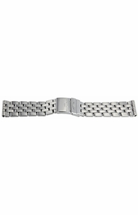 Breitling Stainless Steel 20mm Pilot Bracelet 385A
