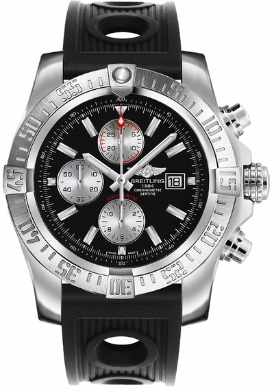 Breitling Super Avenger II Chronograph Men's Watch A1337111/BC29-201S