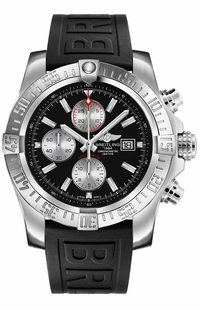 Breitling Super Avenger II Black Dial Men's Watch A1337111/BC29-155S