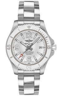 Breitling Superocean 36 Stainless Steel Watch A17316D21A1A1