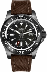 Breitling Superocean 44 Black Steel Men's Watch M1739313/BE92-108W