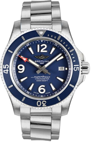 Breitling Superocean 44 Men's Watch A17367D81C1A1