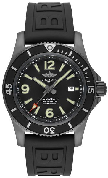 Breitling Superocean 46 Men's Black Watch M17368B71B1S1