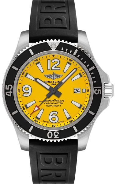 Breitling Superocean Automatic 44 Steel Men's Watch A17367021I1S1