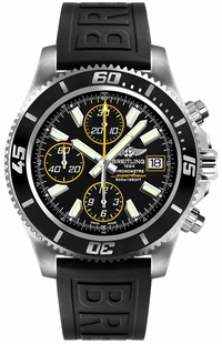 Breitling Superocean Chronograph Black Dial Men's Watch A1334102/BA82-152S