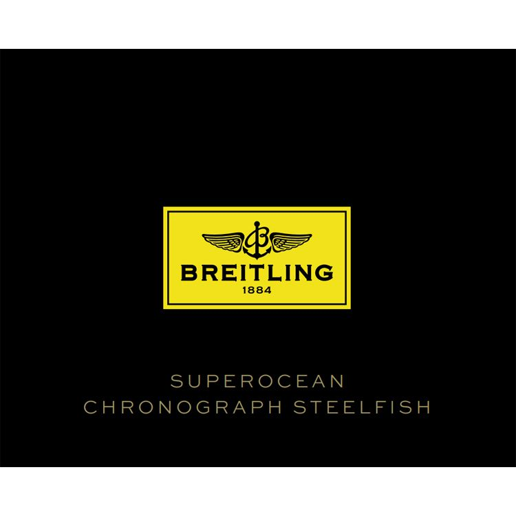 Breitling Superocean Chronograph Steelfish Automatic Men's Watch  A13341C3/BD19-162A