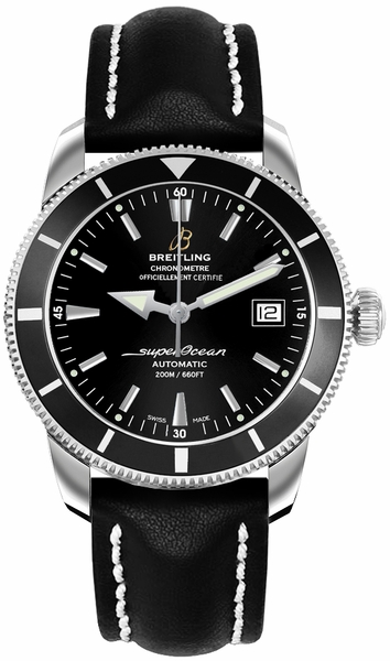 Breitling Superocean Heritage 42 Black Dial Men's Watch A1732124/BA61-435X
