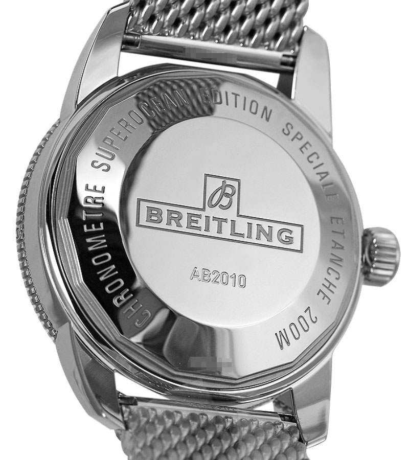 Breitling superocean 42 automatic mens watch special edition black.