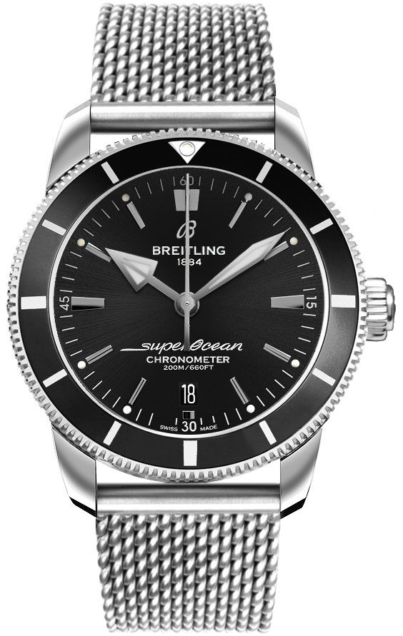Best Automatic Watches >> AB2030121B1A1 Breitling Men's Superocean Heritage II