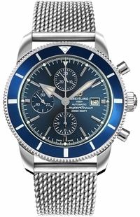 Breitling Superocean Heritage II Chronograph 46 Blue Dial Men's Watch A13312161C1A1