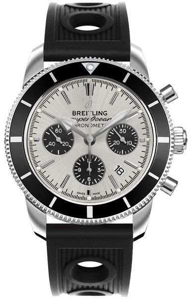 Breitling Superocean Heritage Silver Dial Men's Watch AB016212/G840-200S