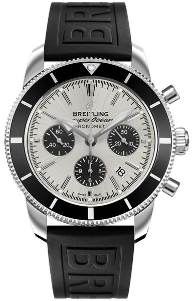 Breitling Superocean Heritage Silver Dial Men's Watch AB016212/G840-153S