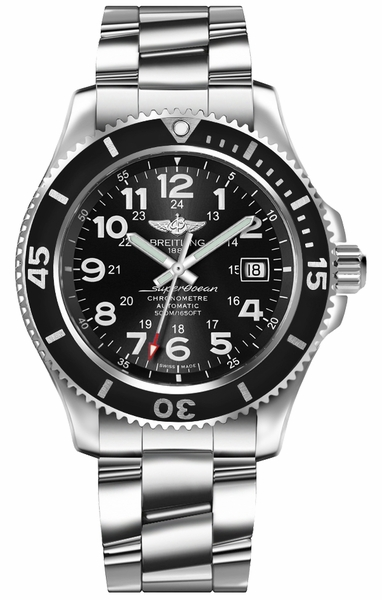 Breitling Superocean II 42 Authentic Luxury Men's Watch A17365C91B1A1