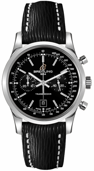 Breitling Transocean Chronograph 38 Men's or Women's Watch A4131012/BC06-218X