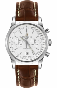 Breitling Transocean Chronograph 38 Men's Watch A4131012/G757-725P