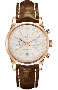 Breitling Transocean Chronograph 38 Luxury Men's Watch R4131012/G758-722P