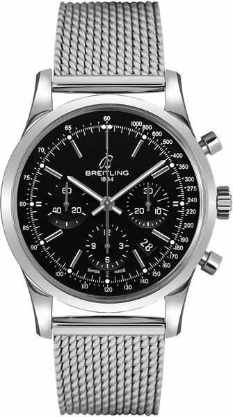 Breitling Transocean Chronograph Men's Watch for Sale AB015212/BA99-154A