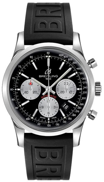 Breitling Transocean Chronograph 43mm Men's Watch AB015212/BF26-153S
