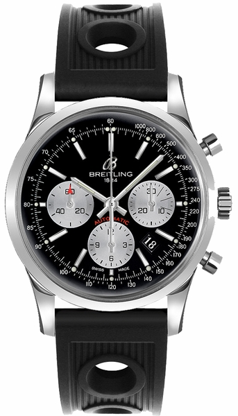 Breitling Transocean Chronograph 43mm Men's Watch AB015212/BF26-200S