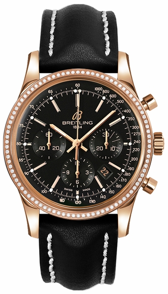 Breitling Transocean Chronograph Men's Luxury Watch RB015253/BB16-435X