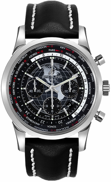 Breitling Transocean Chronograph Unitime Men's Watch AB0510U4/BE84-442X