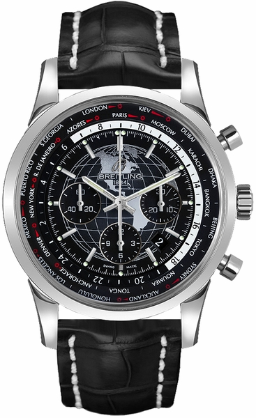 Breitling Transocean Unitime Men's Watch AB0510U4/BE84-760P