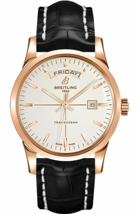 Breitling Transocean Day Date Men's Watch R4531012/G752-743P