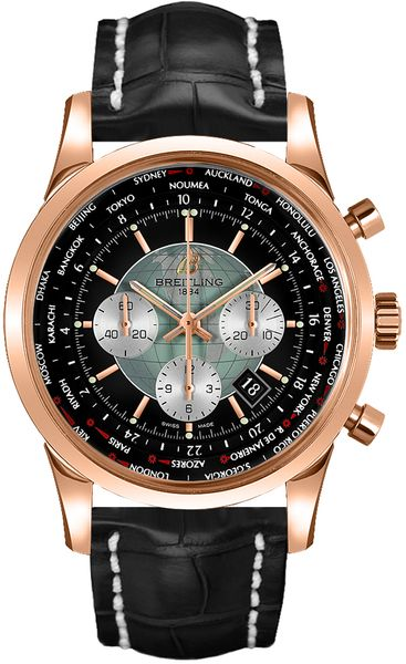 Breitling Transocean Unitime 46mn Men's Watch RB0510U4/BB63-761P
