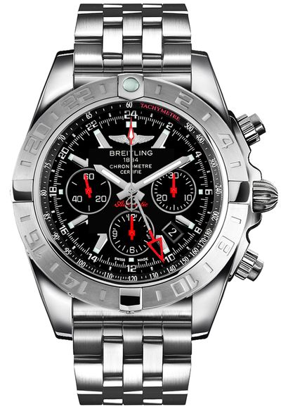 Breitling Chronomat GMT Men's Watch AB041210/BB48-384A