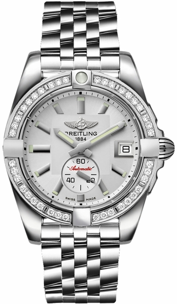 Breitling Galactic 36 Automatic Diamond Women's Watch A3733053/G706-376A