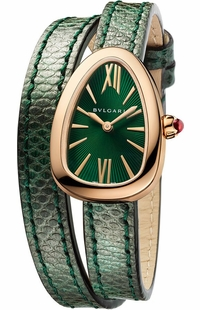 Bvlgari Serpenti Green Dial Women's Watch 102726